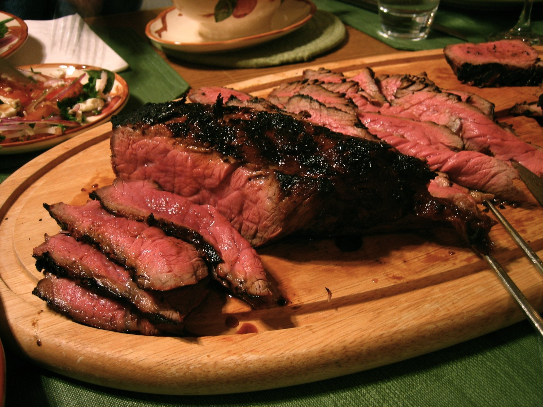 The Reverse Sear Steak Method, Meduim Rare from Edge to Edge
