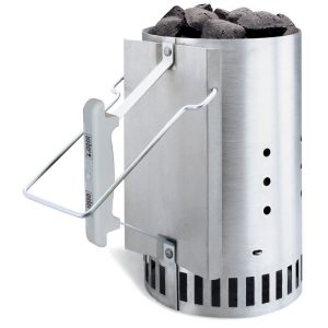 What is the Best Charcoal Chimney Starter_Weber 7416 Rapidfire Charcoal Chimney Starter Review