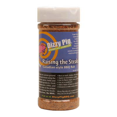 Dizzy Pig Raising The Steaks Review, RaisingTheSteak BBQ Rub