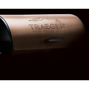 Traeger Pellet Grills, Traeger TFB29LZA Junior Elite Grill, bronze colored lid