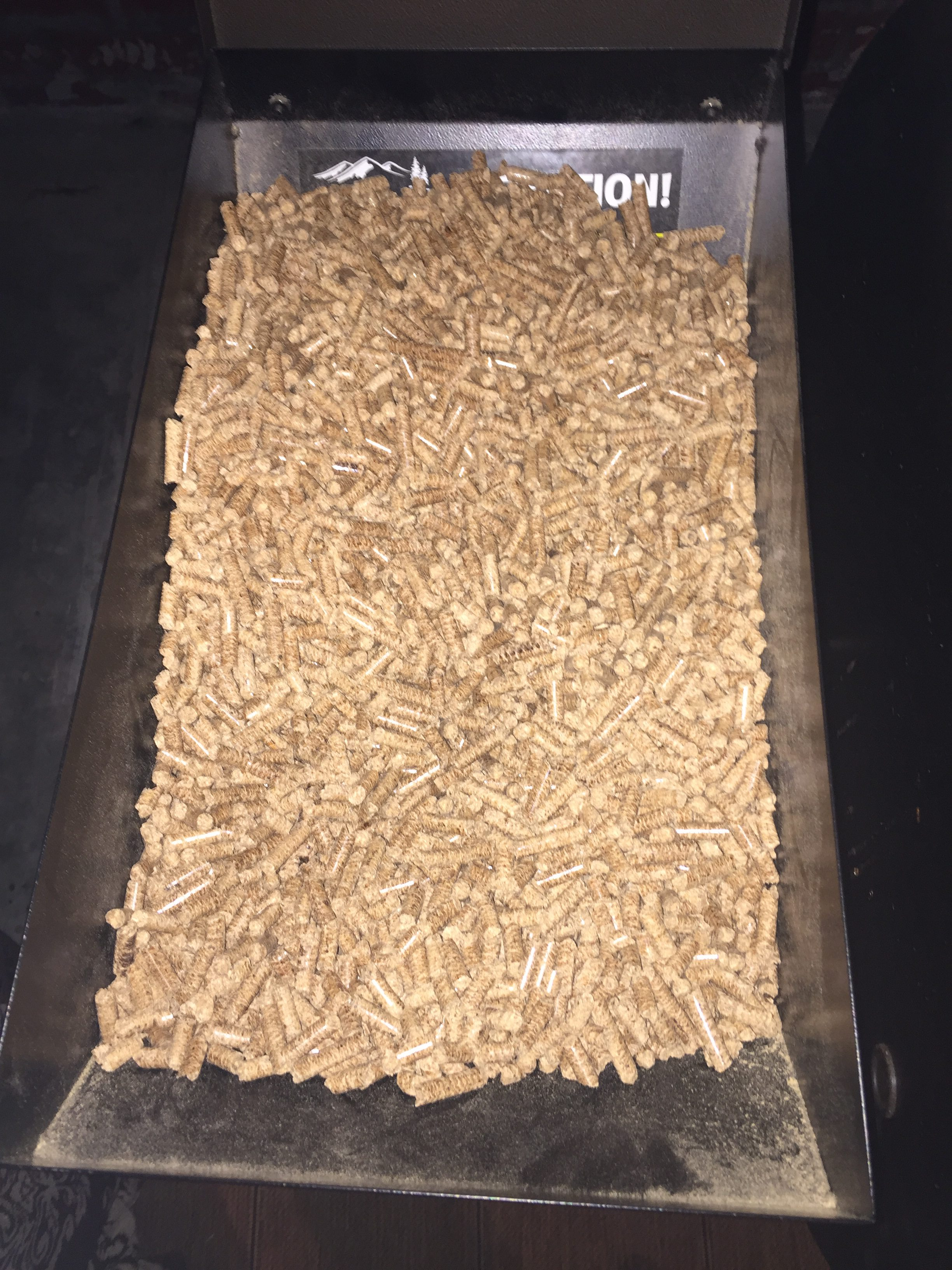 What is a Pellet Grill_Wood Pellets in the Hopper