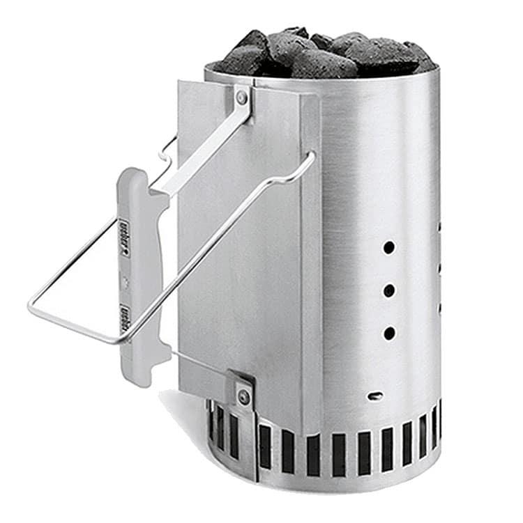 20 Grilling Mistakes, Weber Chimney Starter