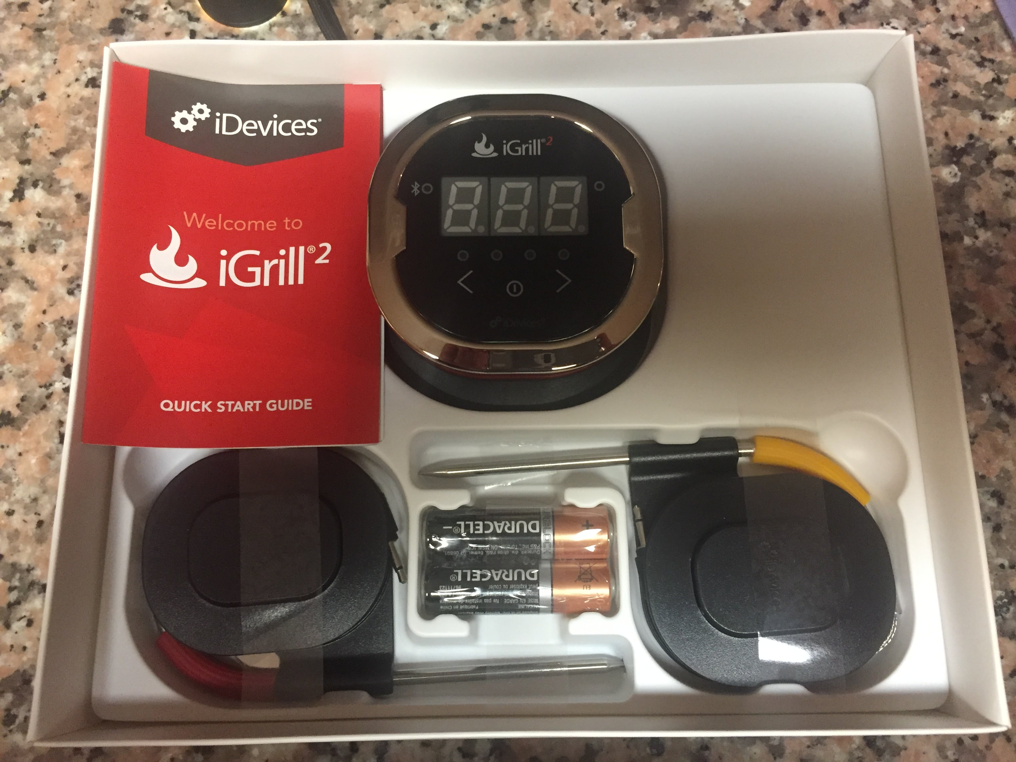 igrill wireless cooking thermometer
