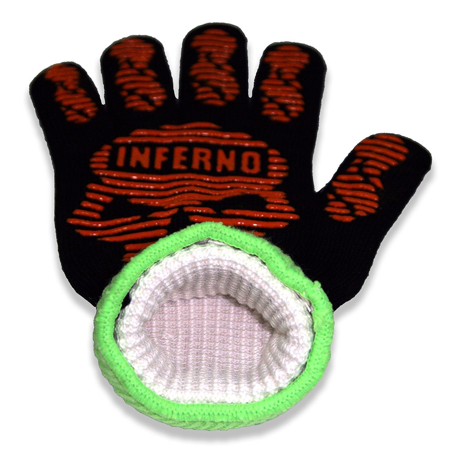 Heat Resistant Barbecue Gloves, Soft Comfortable Liner