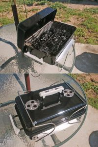 Portable Charcoal Grill, ypes Of Outdoor Grills