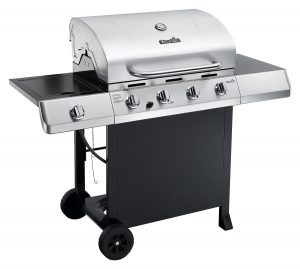 Char-Broil Classic 40,000 BTU 4-Burner Gas Grill, Best Low Cost Gas Grills