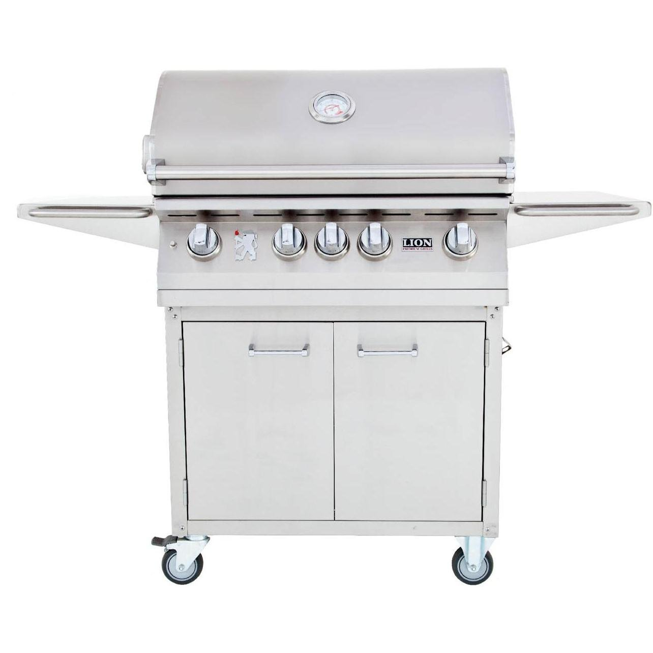 Lion 32-Inch Stainless Steel Freestanding Liquid Propane Gas Grill, Best Luxury Gas Grills