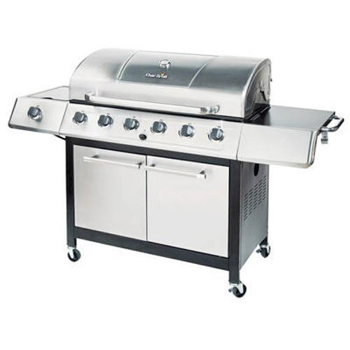 Char-Broil Classic 6-Burner Gas Grill, Best Medium Priced Gas Grills
