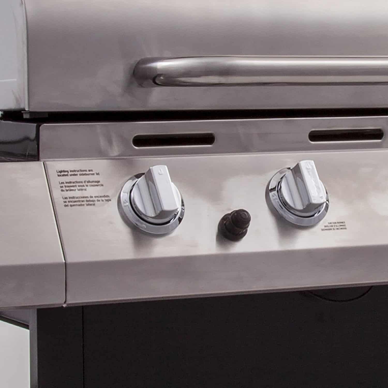 Char Broil Classic 4 Burner Grill, Heat Control Knobs