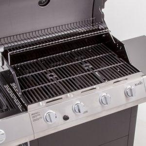 Char Broil Classic 4 Burner Grill, Porcelain Cast Iron Cooking Grates