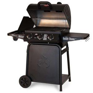 Char Griller Grillin' Pro 3001 3 Burner Gas Grill