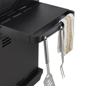 Dyna Glo Smart Space Living 3 Burner Gas Grill, Towel Racks And Storage Hooks