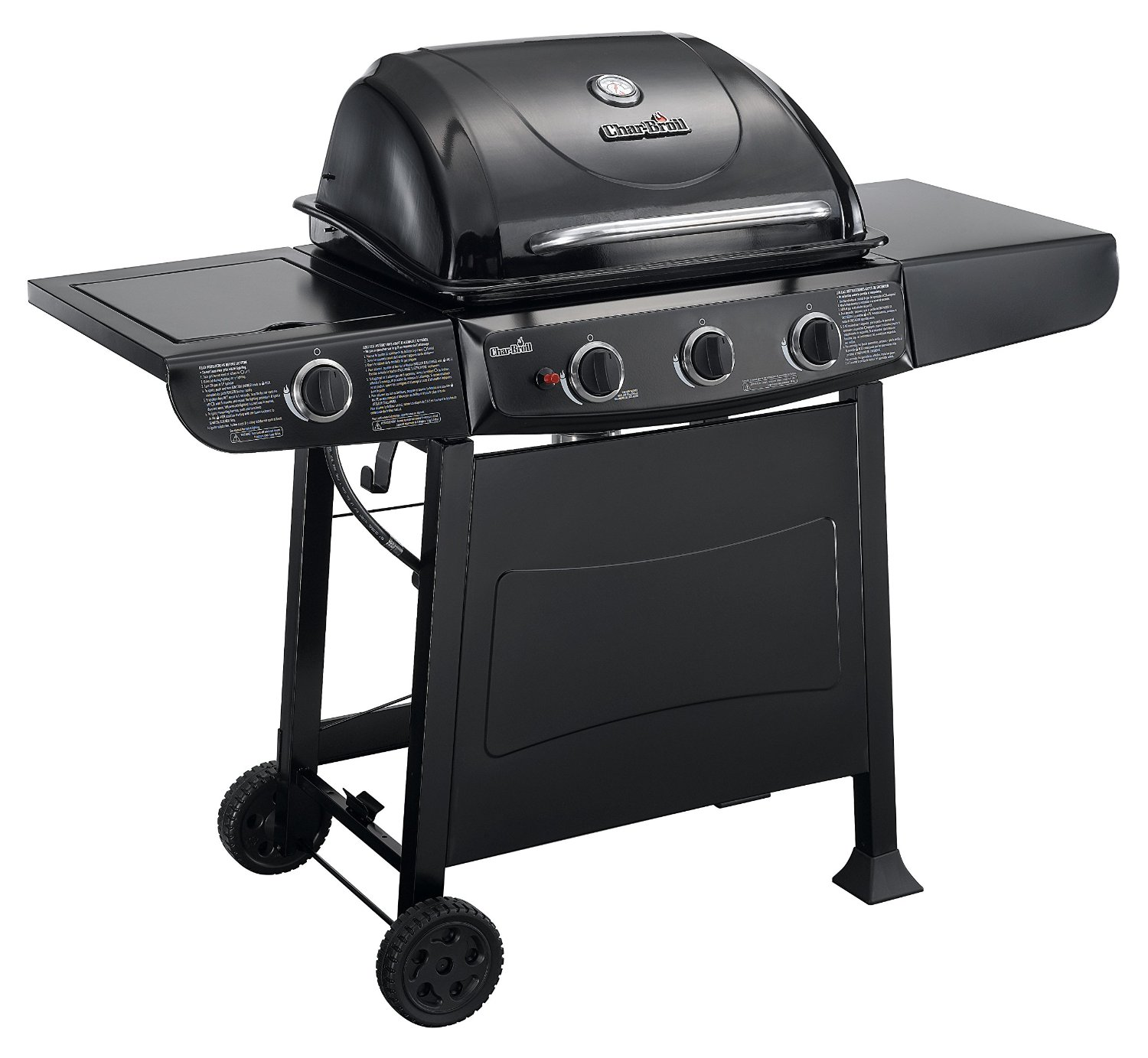 The Char Broil 3 Burner Grill