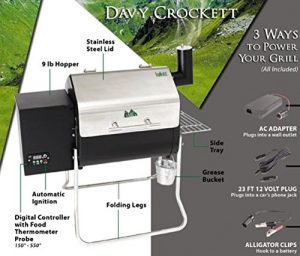 Green Mountain Grills Davy Crockett Pellet Grill, Awesome Features