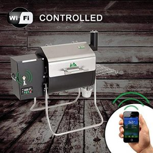 Green Mountain Grills Davy Crockett Pellet Grill, WiFi Controlled Through Your Smart Phone