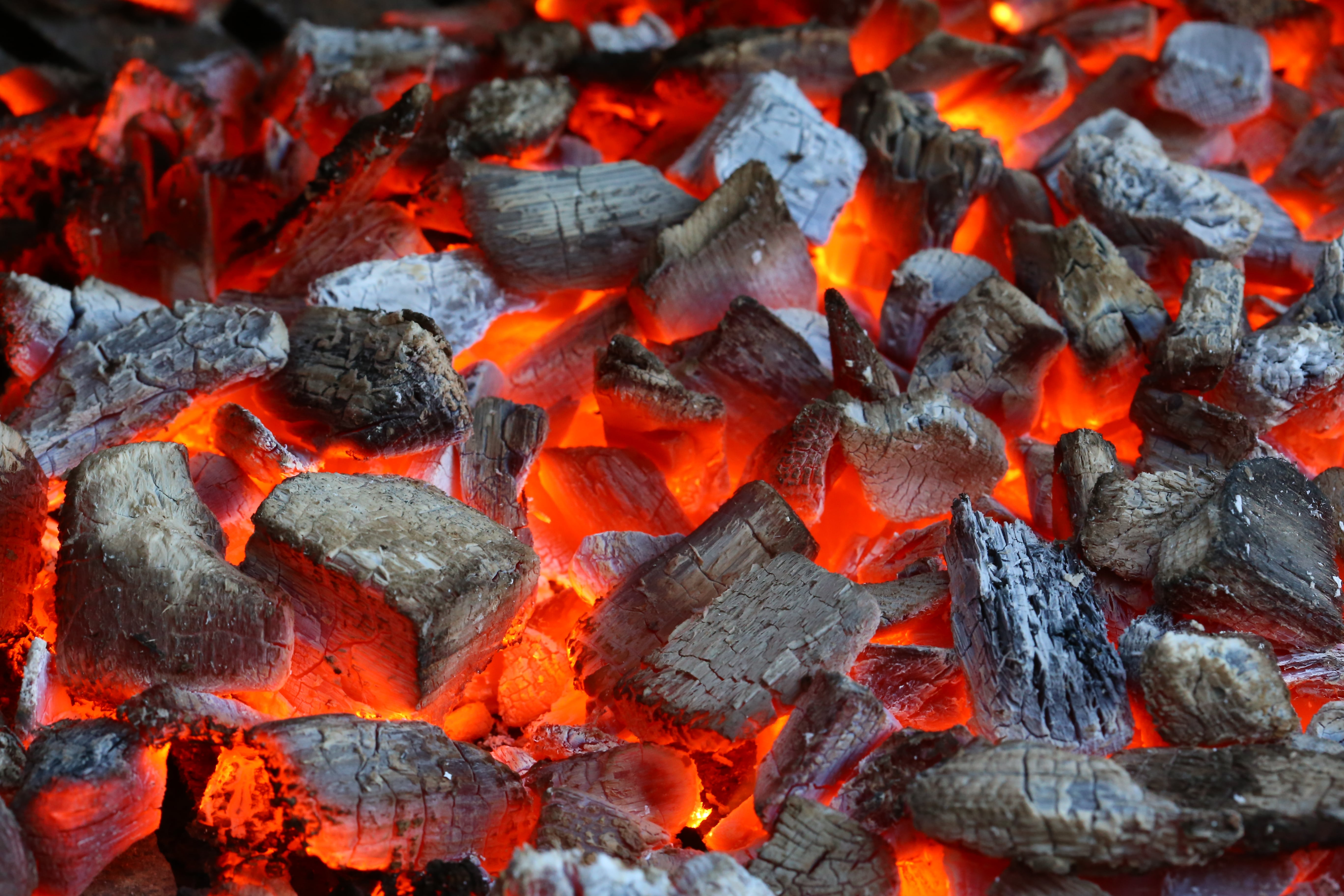 How To Start A Charcoal Grill Burning Charcoal The