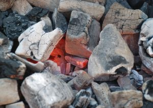 How to Start a Charcoal Grill, Hardwood Charcoal