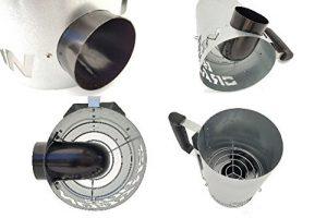 BBQ Dragon Charcoal Starter, Innovative Design