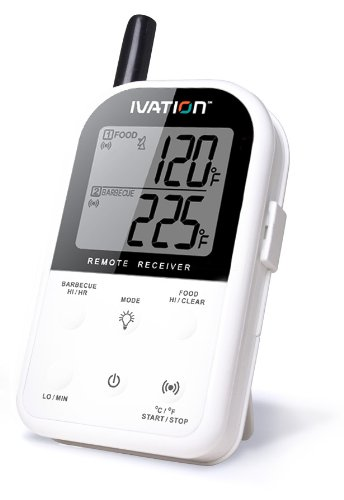 Ivation Wireless BBQ Thermometer, Receiver