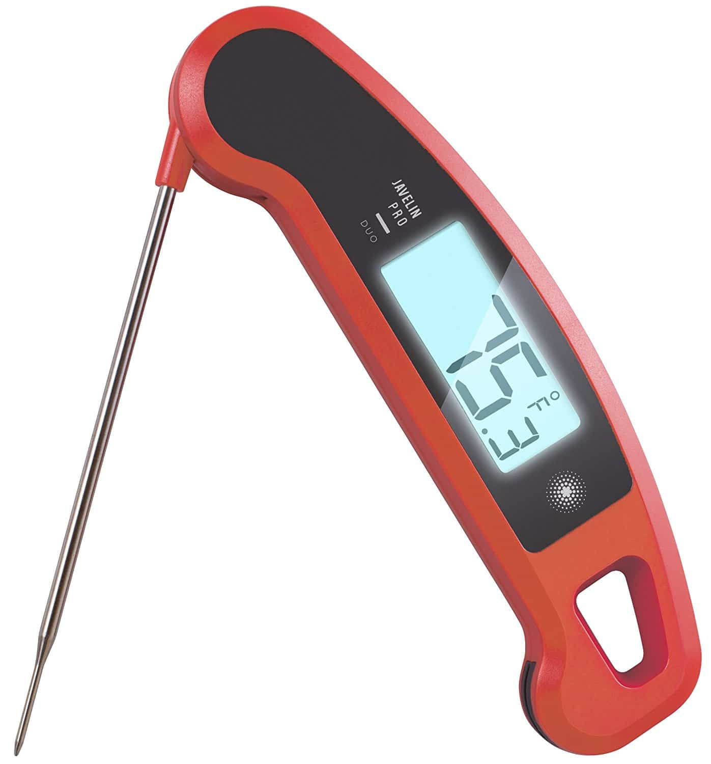lavatools javelin pro duo ambidextrous backlit instant read digital meat thermometer the. Black Bedroom Furniture Sets. Home Design Ideas