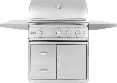Blaze Professional 3-burner Propane Gas Grill 2