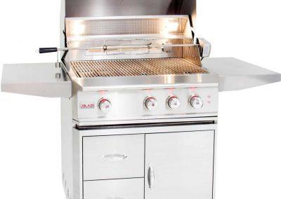 Blaze Professional 3-burner Propane Gas Grill