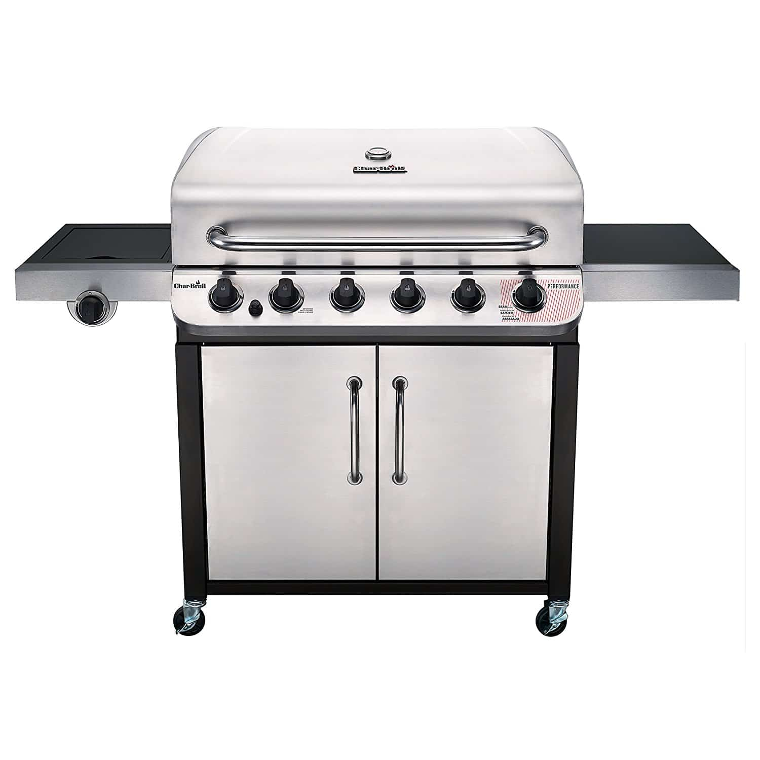 Char Broil Performance 650 6-Burner Cabinet Gas Grill 1