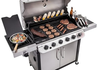 Char Broil Performance 650 6-Burner Cabinet Gas Grill 3