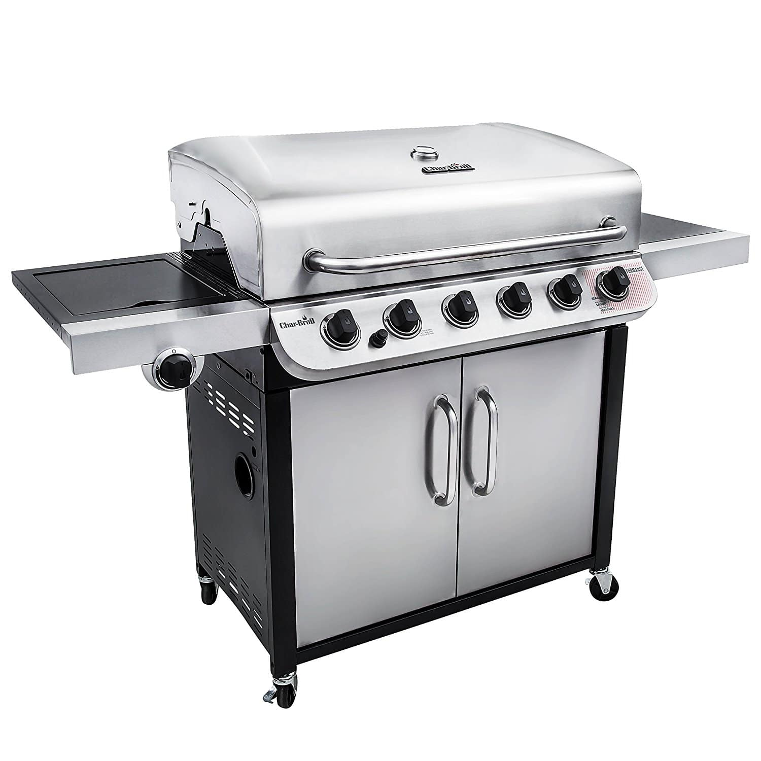 Char Broil Performance 650 6 Burner Cabinet Gas Grill