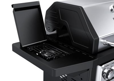 Dyna-Glo Black & Stainless Premium Grills, Side Burner