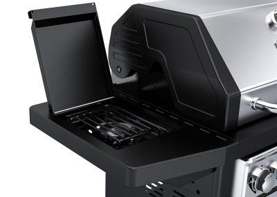 Dyna-Glo Black & Stainless Premium Grills, Side Burner