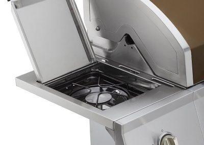 Dyna-Glo DGE Series Propane Grill, 5 Burner, Side Burner