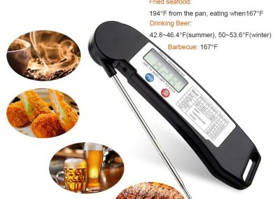GDEALER Instant Read Thermometer, GDEALER Food Thermometer