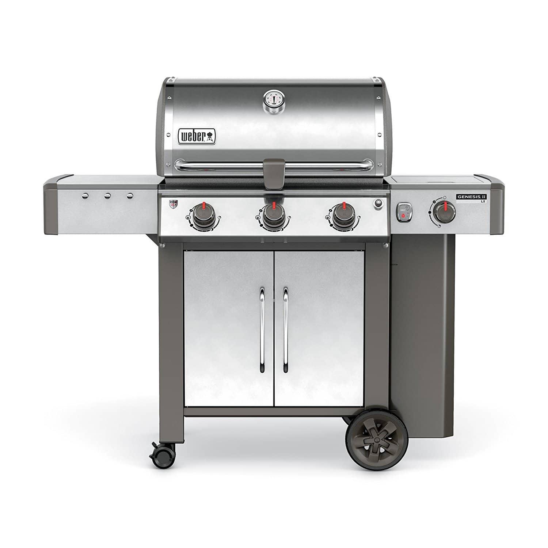 weber 61004001 genesis ii lx s 340 liquid propane grill the