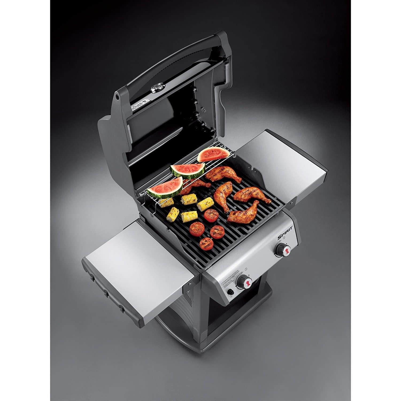 weber 46110001 spirit e210 liquid propane gas grill the. Black Bedroom Furniture Sets. Home Design Ideas