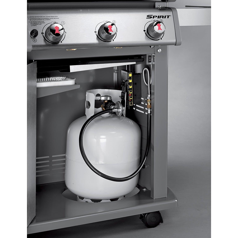 weber 46110001 spirit e210 liquid propane gas grill the grilling life. Black Bedroom Furniture Sets. Home Design Ideas