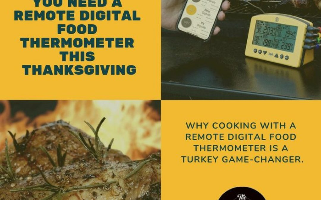 6 Reasons Why You Need a Remote Digital Food Thermometer This Thanksgiving