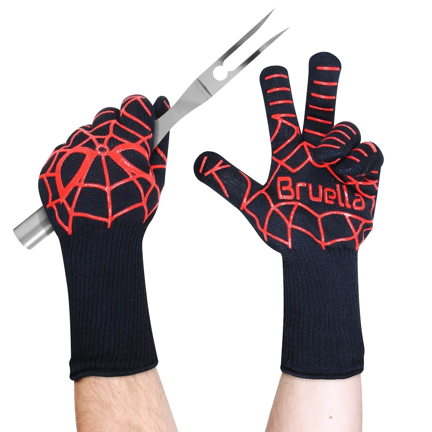 Bruella Heat Resistant Grilling Gloves Review