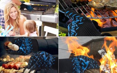 Simdevanma Oven Gloves Review And Rating – True Multi-Purpose And Versatile Heat Resistant Gloves