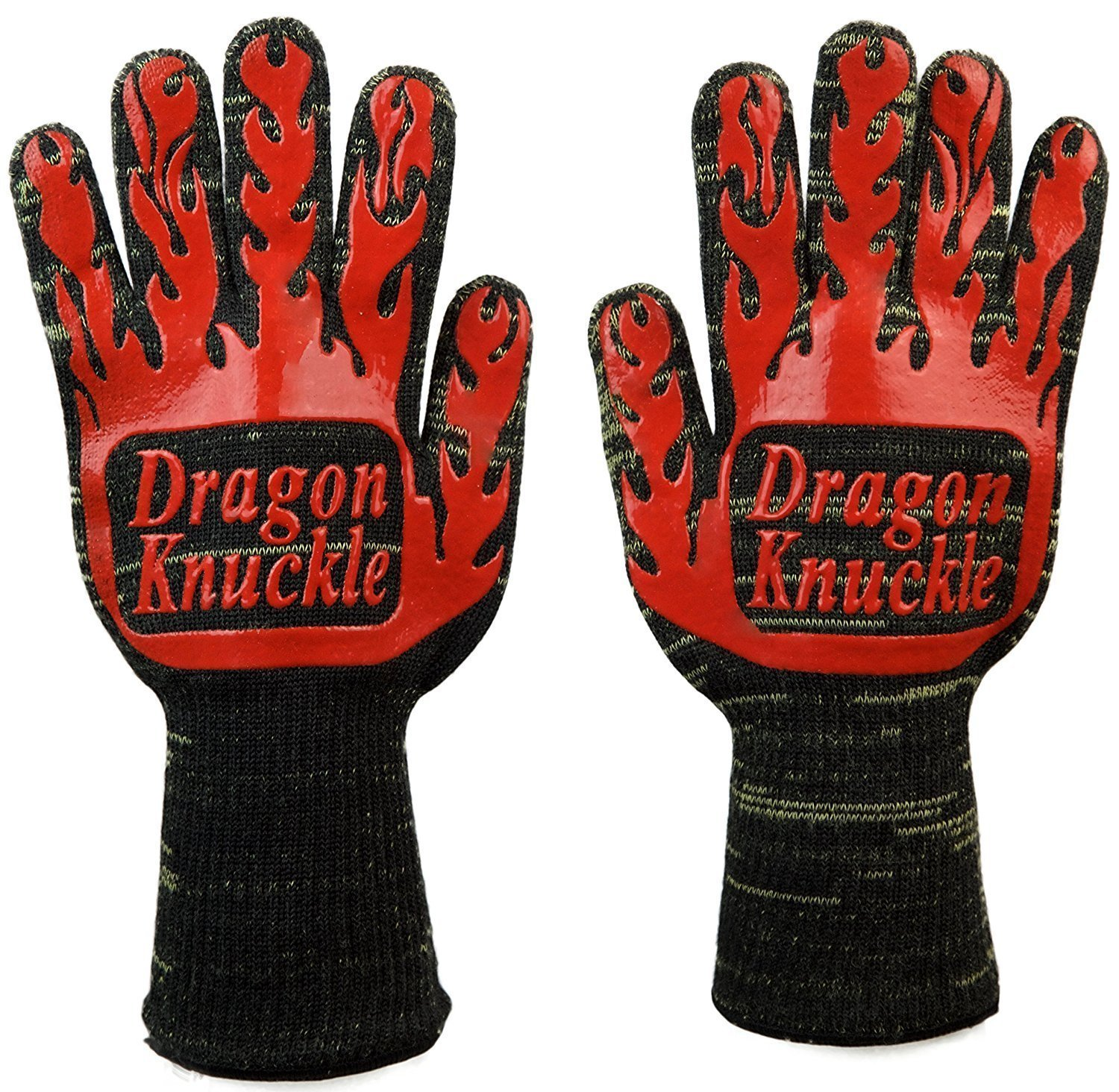 Dragon Knuckle Heat Resistant BBQ Gloves