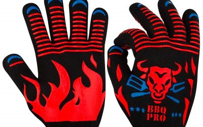 KAshop BBQ Grilling Gloves Review And Rating – Awesome Looking Gloves For The Grill