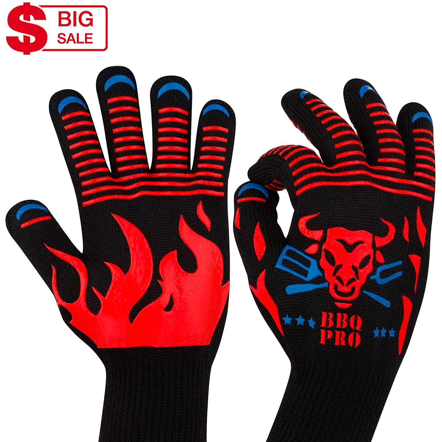 KAshop BBQ Grilling Gloves
