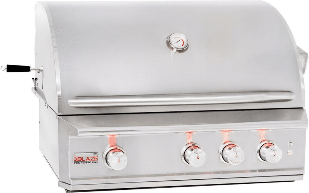 Blaze Professional 34-Inch 3-Burner Built-In Gas Grill Review And Rating – A Fully Loaded Stunning Built-In