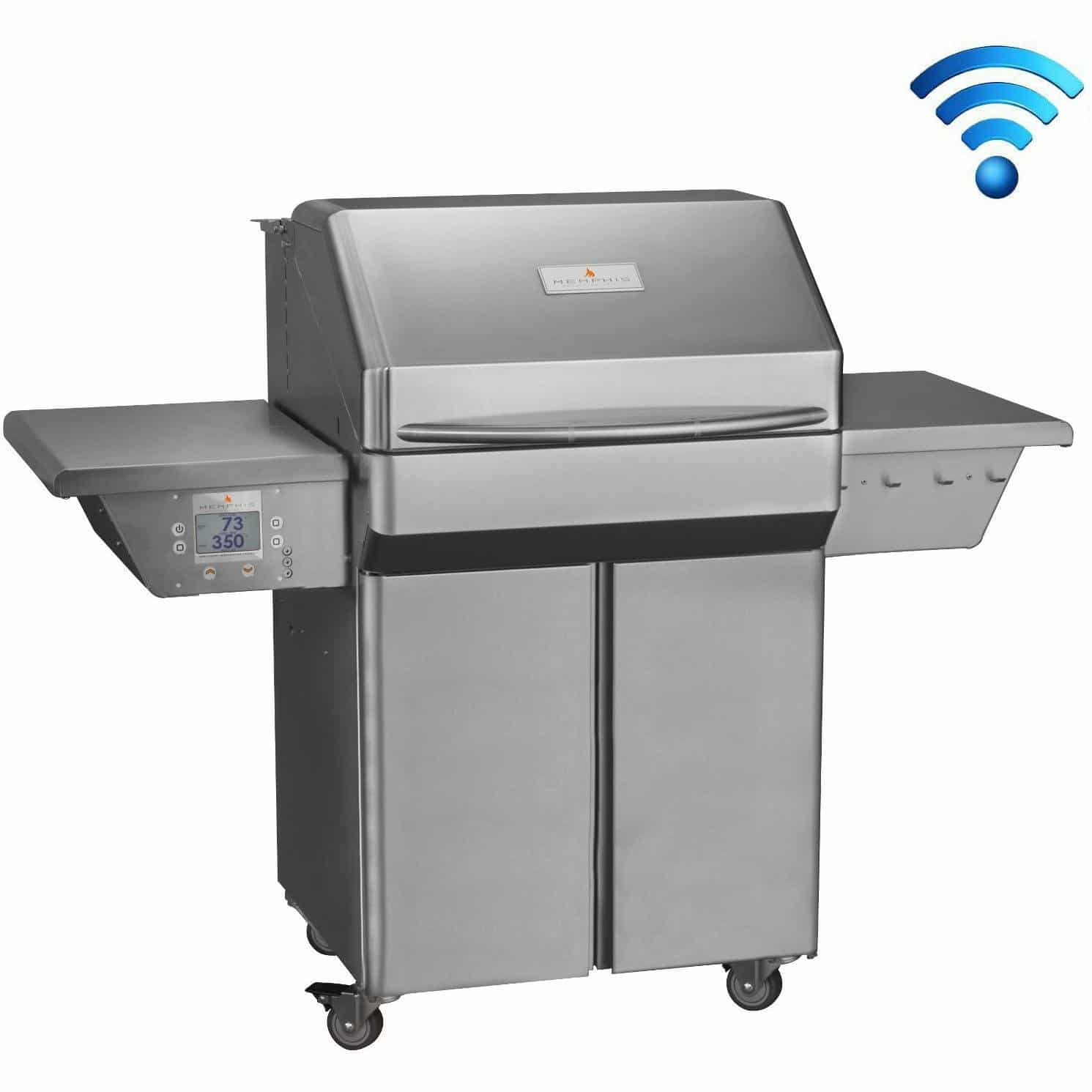 Memphis Grills Pro Pellet Grill With Built-In Wi-Fi