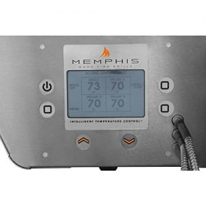 Memphis Grills Pro Pellet Grill With Intelligence Temperature PID Controller