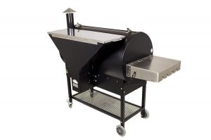 REC TEC Wood Pellet Grill RT-680 Back View