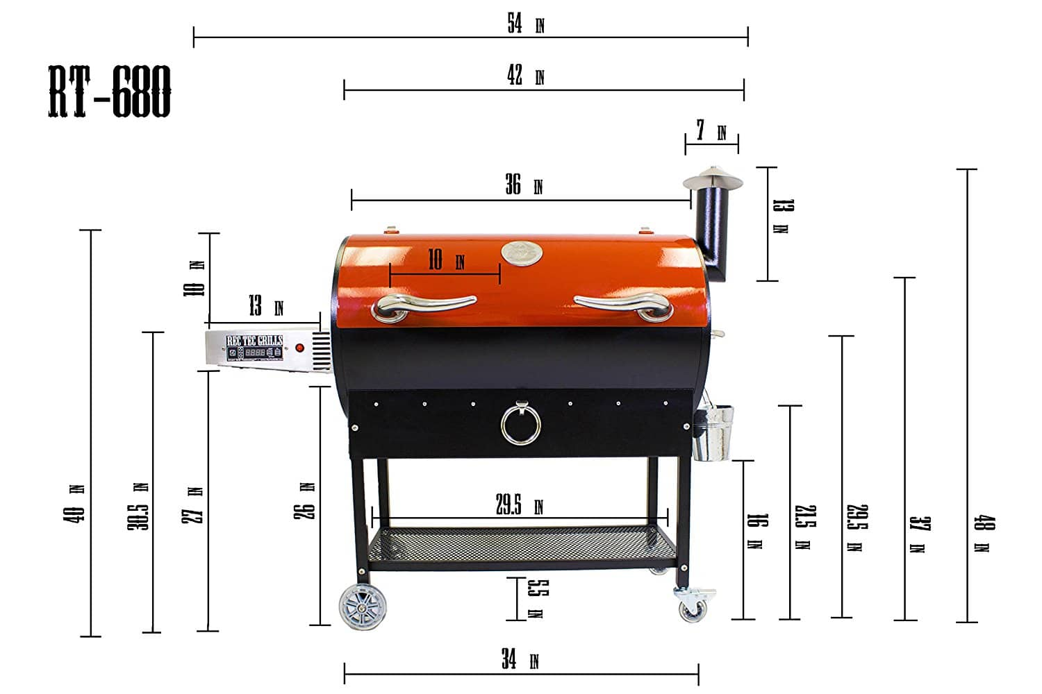 Rec Tec Wood Pellet Grill Rt 680 Review And Rating The