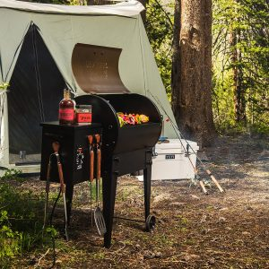 Traeger Tailgater Pellet Grill and Smoker Portable Grill