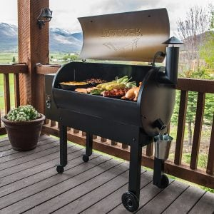 Traeger Texas Elite 34 Grill With A Large Grilling Space
