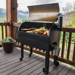 TraegerTexasElite34Grill With A Large Grilling Space